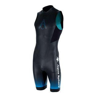 Aquasphere - Combinaison courte de natation en eau libre Aquaskin Shorty V3